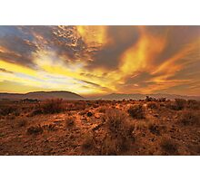 Western Sunset Photographic Print