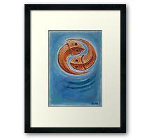 pi seas Framed Print