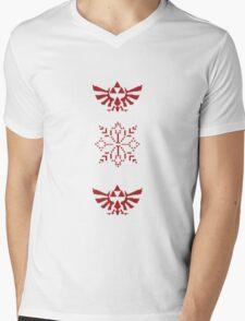 Nerdy Christmas Sweater: Zelda Mens V-Neck T-Shirt
