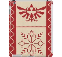 Nerdy Christmas Sweater: Zelda iPad Case/Skin