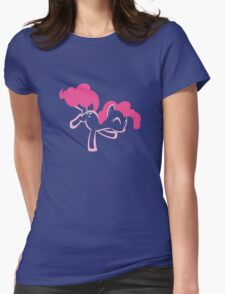 Pinkie Pie by Up1ter Womens Fitted T-Shirt