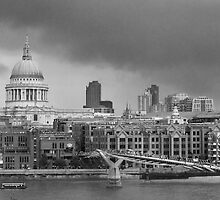 London and St Paul's Cathedral by Nick Coates