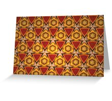 Prismatic Texture 46 Greeting Card