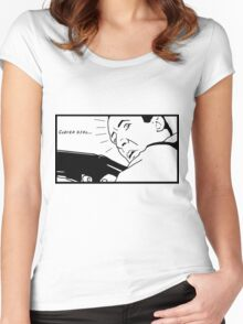 Clever girl... Women's Fitted Scoop T-Shirt