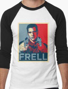 crichton propaganda Men's Baseball ¾ T-Shirt