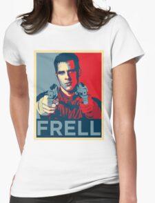crichton propaganda Womens Fitted T-Shirt