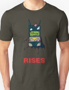 The Dark Knight Rises... FROM THE GRAVE! T-Shirt