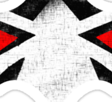 Bane Vs Batman Symbol Sticker