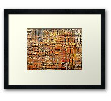 Abstract part by rafi talby Framed Print