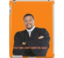 Judge My Game iPad Case/Skin