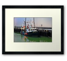 Cat Eyes Fishing vessel  Framed Print