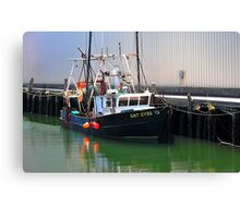Cat Eyes Fishing vessel  Canvas Print