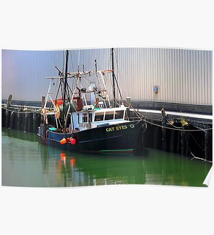 Cat Eyes Fishing vessel  Poster