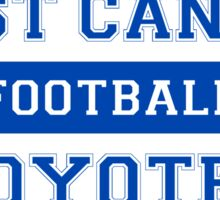 West Canaan Coyotes Sticker