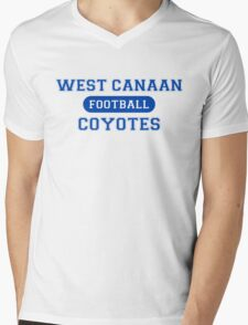 West Canaan Coyotes Mens V-Neck T-Shirt