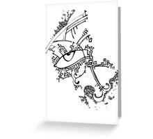 Eye of God Greeting Card
