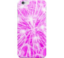Dandelion clock - purple iPhone Case/Skin
