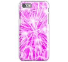 Dandelion clock - purple iPhone Case/Skin