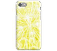Dandelion clock - yellow iPhone Case/Skin