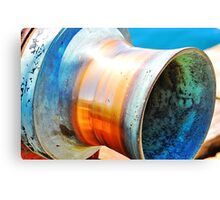 Brass Winch Canvas Print