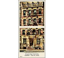 Crayon NYC °1 Photographic Print
