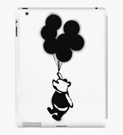 Flying Balloon Bear iPad Case/Skin