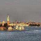 Entering Venice by Tom Gomez