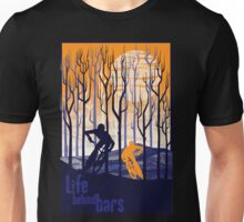 retro mountain bike poster illustration Unisex T-Shirt