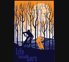 retro mountain bike poster illustration T-Shirt