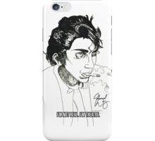 I'M NOT REAL. iPhone Case/Skin