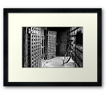 Nothing But Time Framed Print