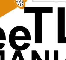 BeeTLE MANIA Sticker