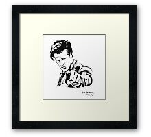 Dr. Smith Framed Print