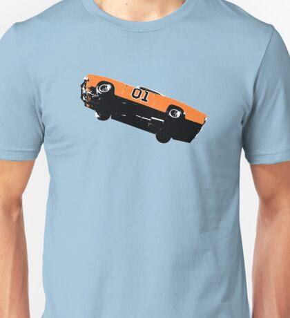 The Dukes Of Hazzard General Lee T-shirt Unisex T-Shirt