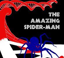 Amazing Spider-Man Pulp Poster by dotstarstudios