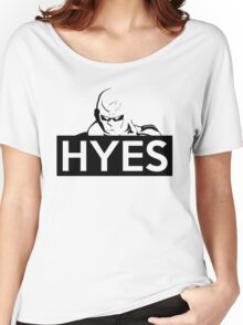 HYES Women's Relaxed Fit T-Shirt