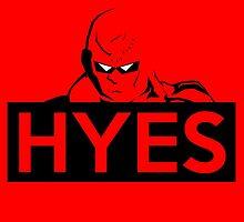 HYES by blueshyguy27
