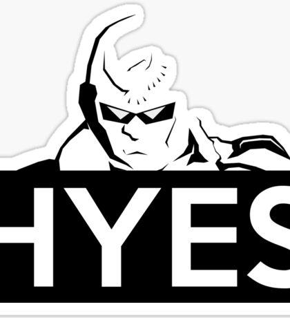 HYES Sticker