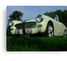 Old Style Motoring Canvas Print