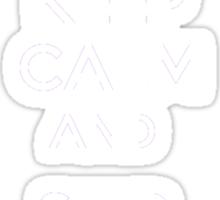 Keep Calm And Ship Swan Queen Sticker