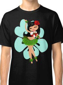 Hula Girl Classic T-Shirt