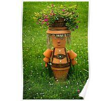 Tiroler happy gardener Poster
