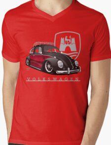 Black 'n Red Mens V-Neck T-Shirt
