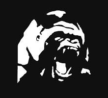 Angry Gorilla - White Unisex T-Shirt