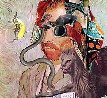 Portrait of Van Gogh 12. by - nawroski -