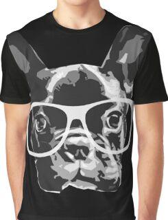 nerd dog Graphic T-Shirt