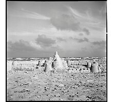 Sand Castle Photographic Print