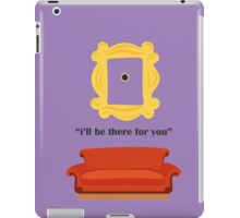 friends Couch i'll be there for you peephole iPad Case/Skin