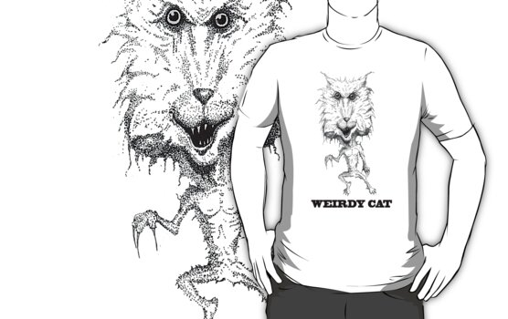 Weirdy Cat by sublimy99