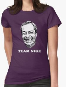 Team Nige Womens Fitted T-Shirt